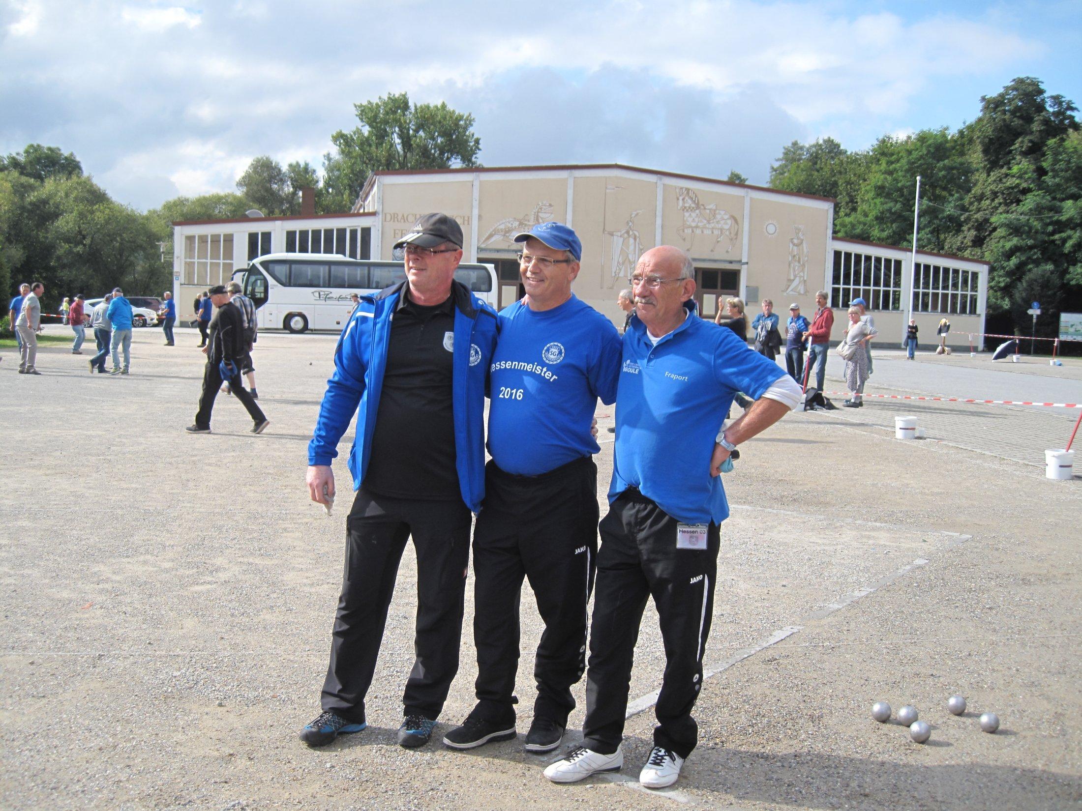Die Drei Musketiere Der SG