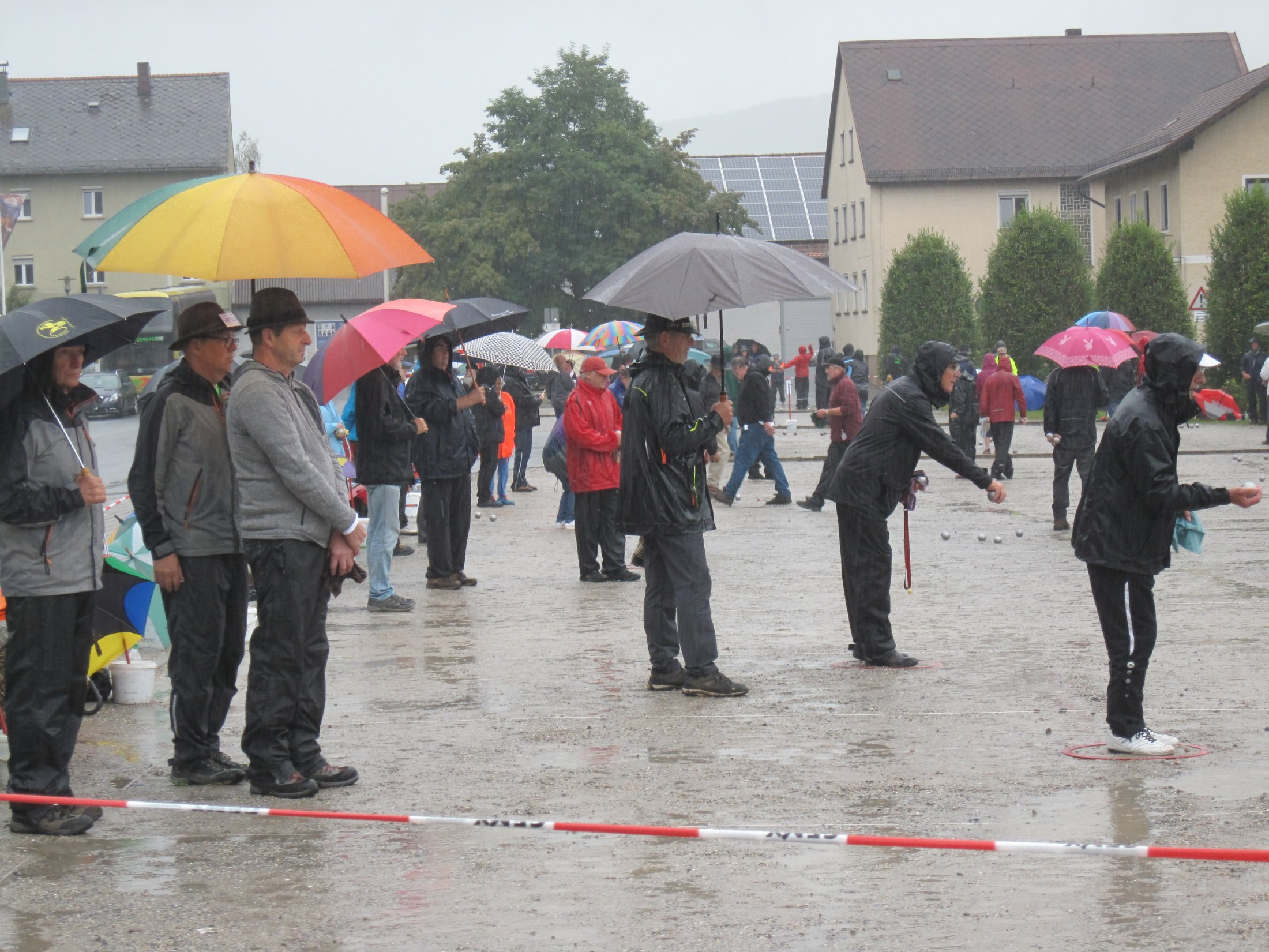 Regenschirmpflicht