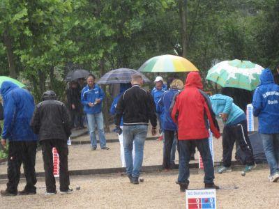 Boulen Mit Schirm